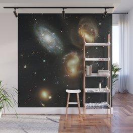 Galactic wreckage Wall Mural