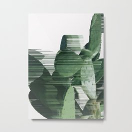 Assorted Cactus Metal Print