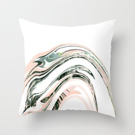 Dazed by nature Throw Pillow