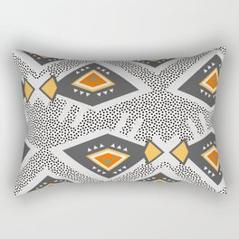Dotted ethnic pattern Rectangular Pillow