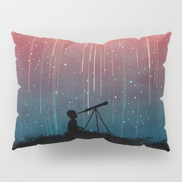 Meteor rain Pillow Sham