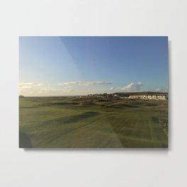 Golfing beuty Metal Print