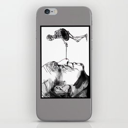 Ray Harryhausen iPhone Skin