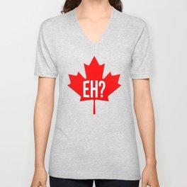 Canadian, eh? Unisex V-Neck