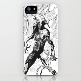 The creature of the night iPhone Case