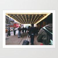 theatre Art Prints featuring Theatre by RaviusKiedn