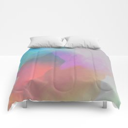 watercolor paint Comforters