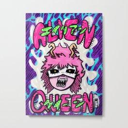 Alien Queen Metal Print