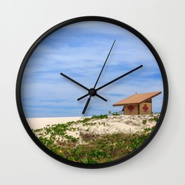 Colors and Sand Wall Clock
