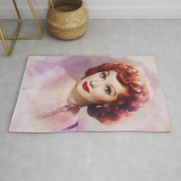 Lucille Ball, Hollywood Legend Rug