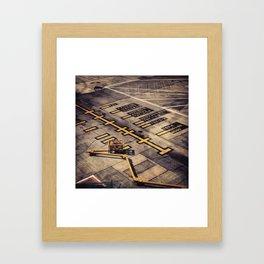 gate 1a Framed Art Print