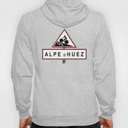 Alpe d'Huez Road Sign Hoody