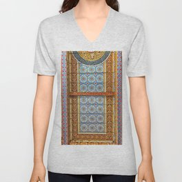 Temple Celling Unisex V-Neck