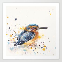 Kingfisher Lane Art Print