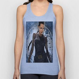 Angelina Jolie as Lara Croft Unisex Tank Top