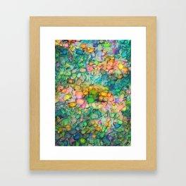 Invent Fragment Framed Art Print