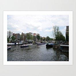 Amsterdam Water Scenic Art Print