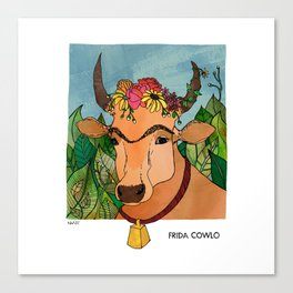 Frida Cowlo Canvas Print