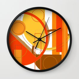 Typography: Orange You Glad I Didn't Say Banana Wall Clock