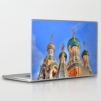 russia Laptop & iPad Skins featuring Basilica in Russia  by Limitless Design