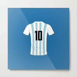 10 Argentina Metal Print