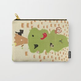 Be Good to Trees Carry-All Pouch