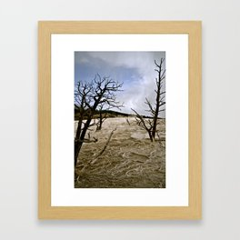 Beautifully Eerie. Framed Art Print