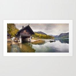 Lake Bohinj Art Print