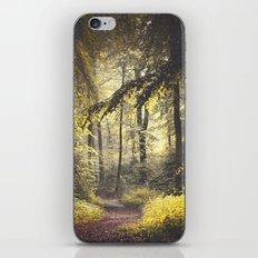 walk with me iPhone & iPod Skin