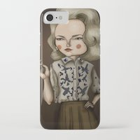 mad men iPhone & iPod Cases featuring Betty Draper (Mad men) by Maripili