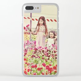 """""""If You Look The Right Way, You Can See That The Whole World Is A Garden"""" Clear iPhone Case"""