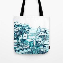 Samcheong dong  Tote Bag