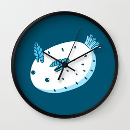 Sea Bunnies_Blue Wall Clock