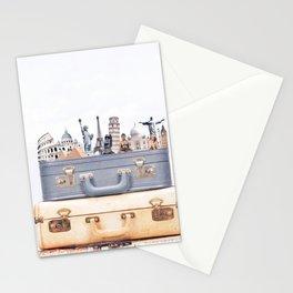 Travel Luggage Stationery Cards