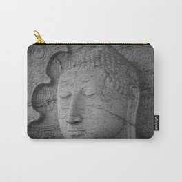 Seated Buddha statue in dhyana mudra pose at Gal Viharaya Carry-All Pouch
