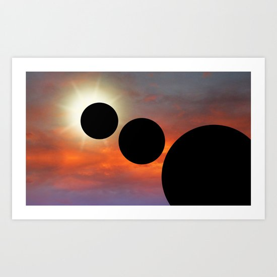 Planetary Alignment Art Print