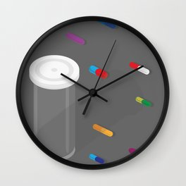 Pills, Legal drug? Wall Clock