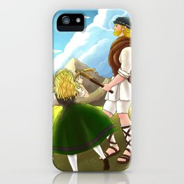 William Tell Freedom Fighter iPhone Case