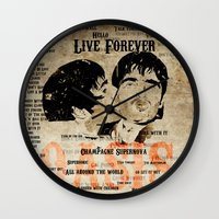 oasis Wall Clocks featuring Oasis by Colo Design