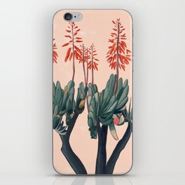 A blooming Plant iPhone Skin