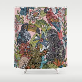 The Jungle Shower Curtain