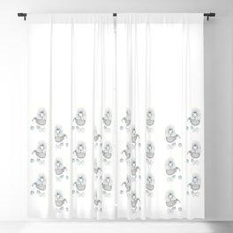 Weird poodles - Lady boy Blackout Curtain