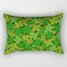 Lucky Clovers Rectangular Pillow