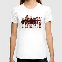 haikyuu T-shirts featuring FLY by rhymewithrachel
