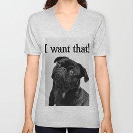 I want that! Unisex V-Neck