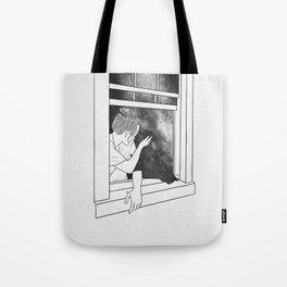 The window of memories. Tote Bag