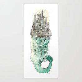The Beast of Burden Art Print