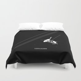 CASSINI-HUYGENS Duvet Cover