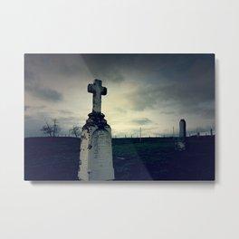 Settler's Grave Metal Print