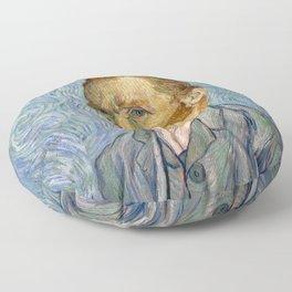 Vincent Van Gogh - Self-Portrait Floor Pillow